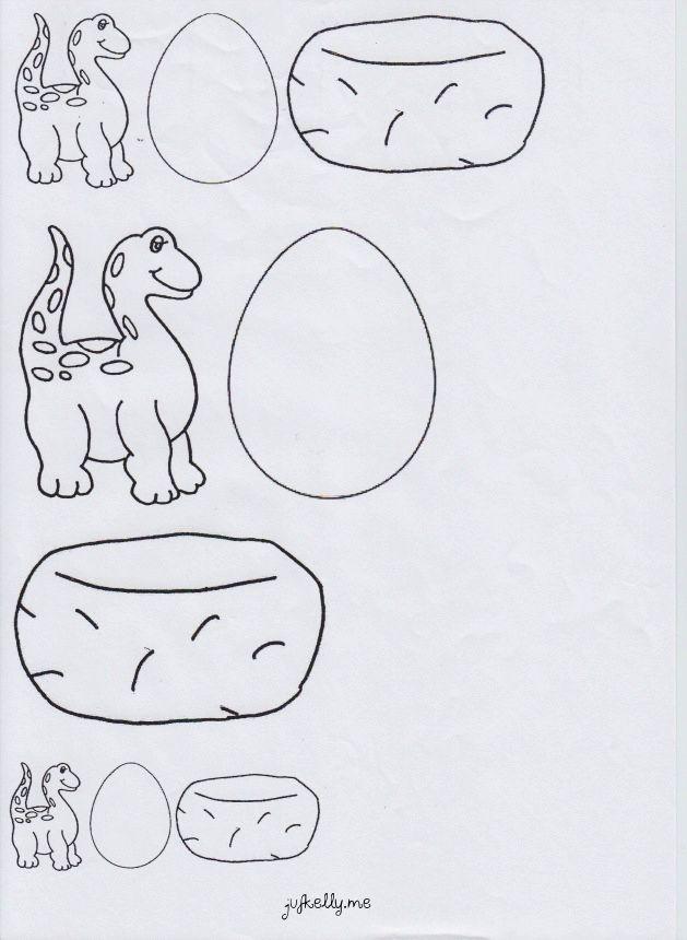Meten : welke dino bij welk ei?