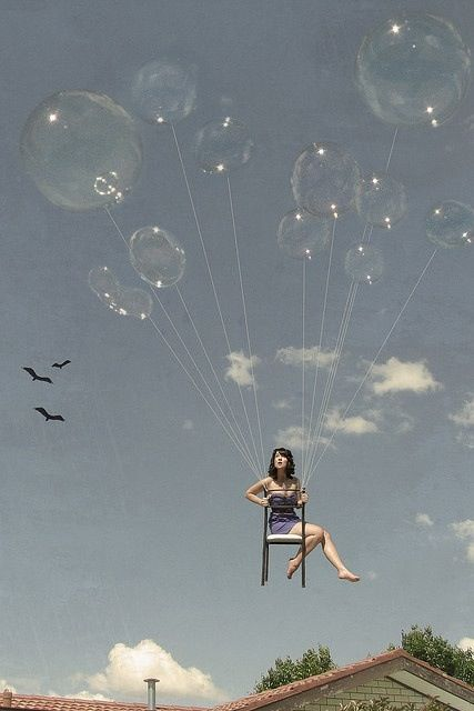 #Bubbles #floating away!  #dreamy