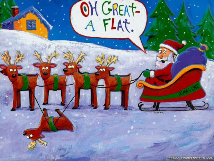 Image Result For Funny Christmas Cartoons