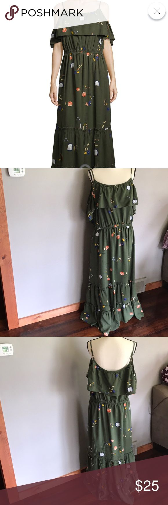 733 Best My Posh Picks Images On Pinterest Ann Taylor Butterfly Imo X6 Lucky Nwot Ana Maxi Dress Size Xl