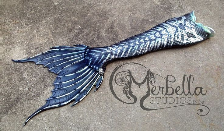 Full Silicone Mermaid Tail by Merbella Studios Inc. Halloween inspired.
