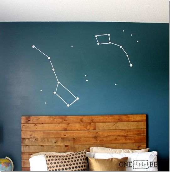 64 best images about star sky on pinterest starry nights for Constellation ceiling mural