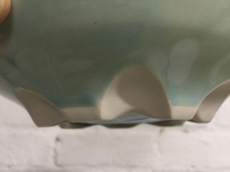 Lynda -Anne Raubenheimer - porcelain bowl detail of the carved foot 12 April 2016