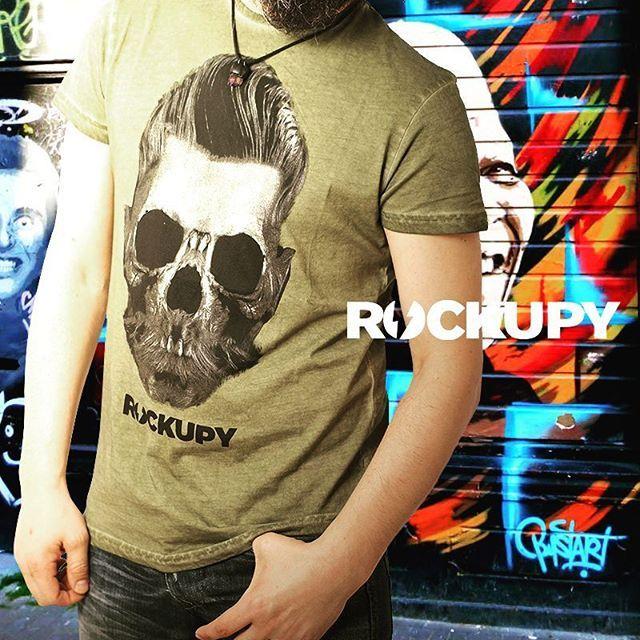 Rockupy ile tarzını konuştur. goo.gl/tokiEP  #tshirt #tshirtdesign #rockfashion #rockstyle #skull