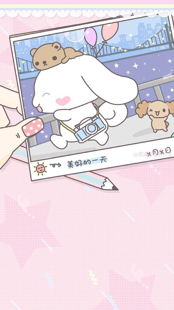 Pin by 華亭 陳 on 卡通 | Cute anime wallpaper, Cute wallpapers, Sanrio wallpaper