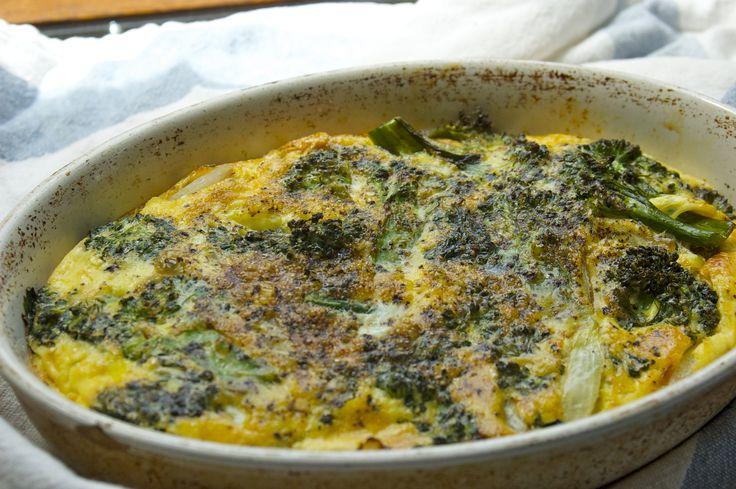 Broccoli Frittatta: Breakfast Ideas, Recipe, Bake, Easy Baking, Green Beans, Broccoli Frittatta, Easy Broccoli, Broccoli Frittata, Easy Frittata