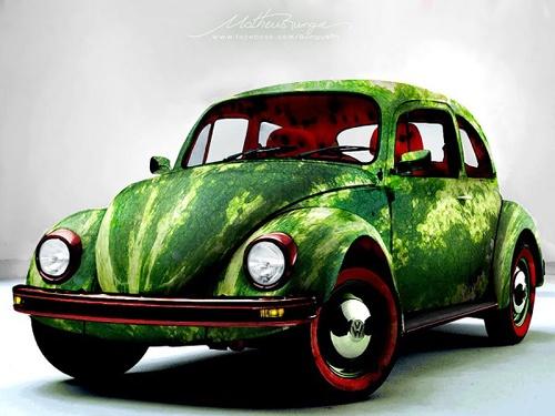 Watermelon car ,,,,  Auto anguria