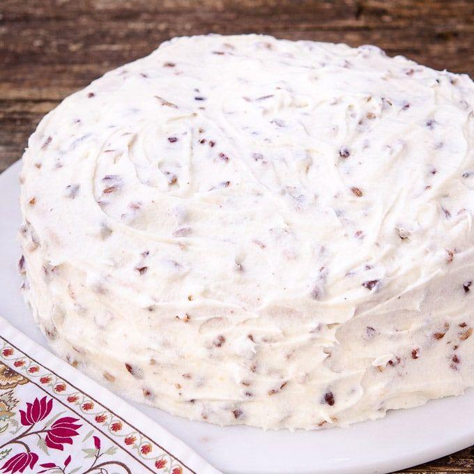Butter Pecan Cake | Magnolia Days