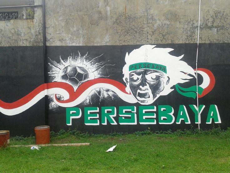 Mural wallpainting soccer football