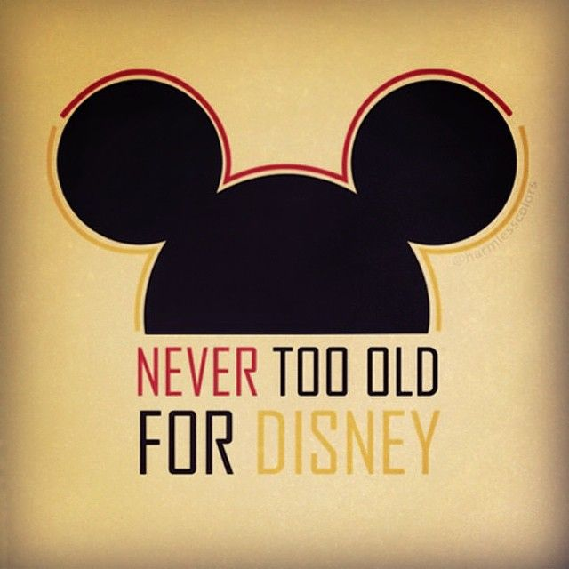 """we love disney :) !!!!! You're never too old!! :) I hate it when people say that they're """"too old"""" to watch a Disney movie. If you don't want to watch it then that's one thing, but disney was..."""