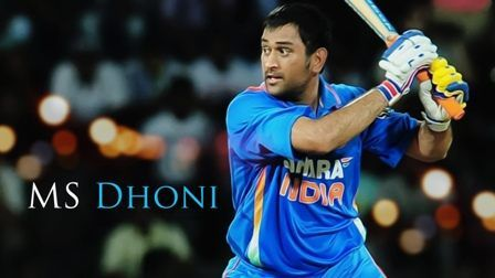 MS Dhoni- Famous Celebrities Birthdays in July