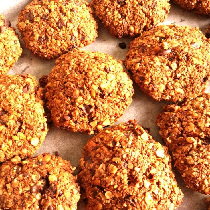 [Nieuw blog] | Recept gezonde haverkoekjes (+winactie kookboek) | http://marloesvanzoelen.nl/recept-gezonde-haverkoekjes/