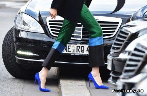 А ты в тренде? / купить яркие туфли