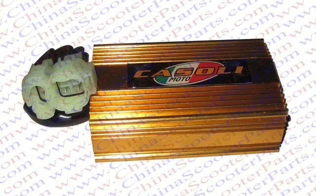 Гонки 6 Pin два Squre Plug DC CDI CF250 CN250 Kazuma Jonway Kinroad Dune ATV Quad Go Kart Багги Скутеры части