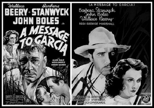 Un mensaje a García (1936)  Wallace Beery, Barbara Stanwyck