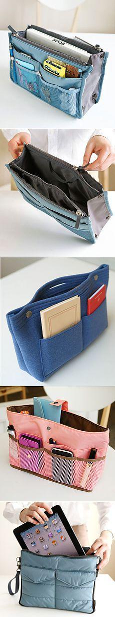 Органайзеры для сумок (подборка идей) / Организованное хранение /