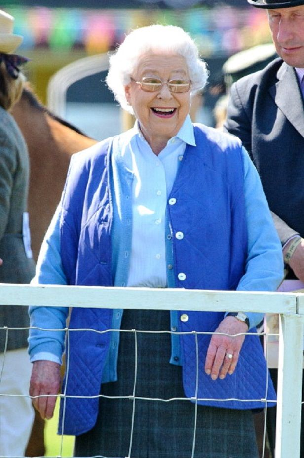 Queen Elizabeth II Attends The Royal Windsor Horse Show 2012 At Home Park In