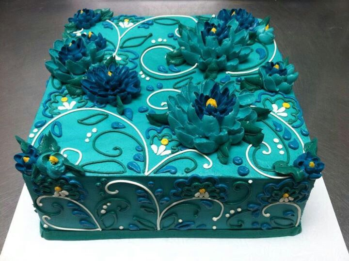 Cake Decorating Store In West Allis Wi : 1000+ ideas about Teal Cake on Pinterest Cakes, Purple ...