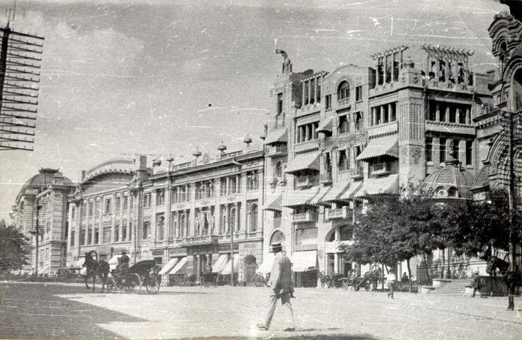 Николаевская площадь. Гостиница Красная