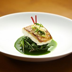 Sous Vide Milk-Poached Halibut Flavored with Rosemary and Kaffir Lime Leaves | Williams-Sonoma