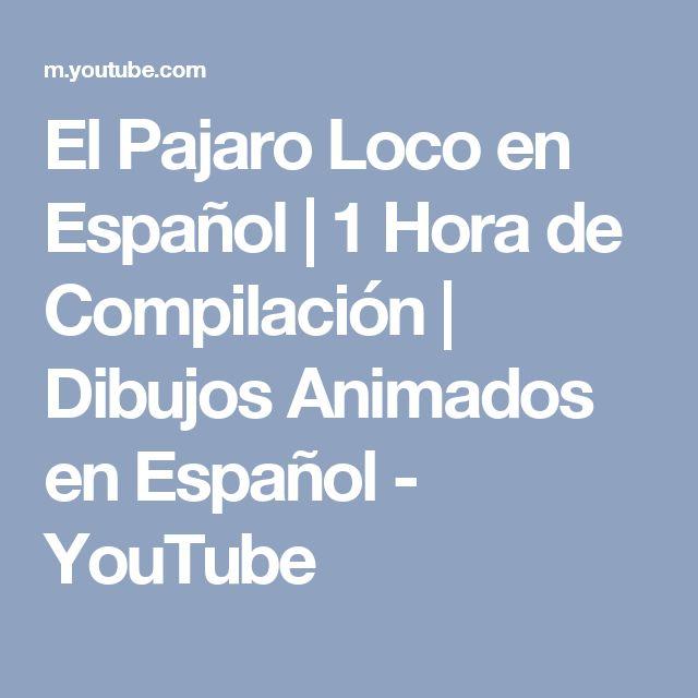 El Pajaro Loco en Español | 1 Hora de Compilación | Dibujos Animados en Español - YouTube