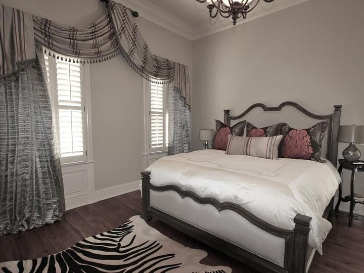 Interior Bedroom Window Treatments ~ Http://topdesignset.com/completes Your