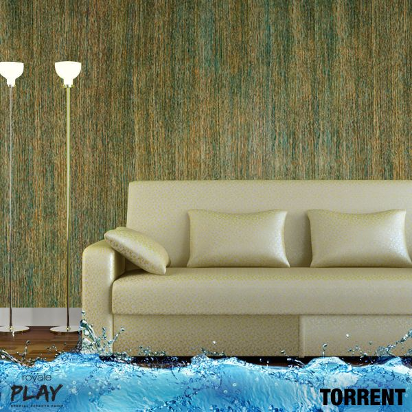 Give your walls a rich elegant look using the Torrent effect from the Royale Play Neu Range. Follow the link to know more about these amazing effects. http://www.asianpaints.com/products/colour-effects/royale-play-wall-textures/royaleplay-special-effects/explore.aspx