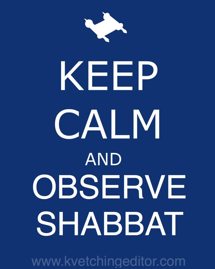 What does observing the sabbath mean for jews????