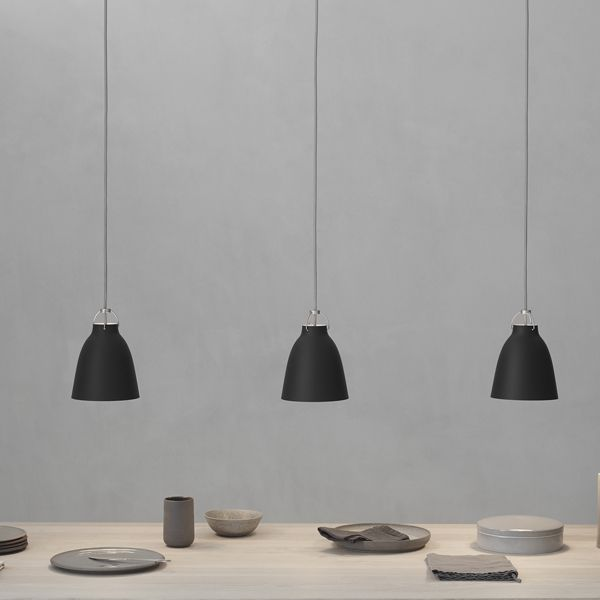 Lightyears Caravaggio P1 pendant, matt black | Pendants | Lighting | Finnish Design Shop