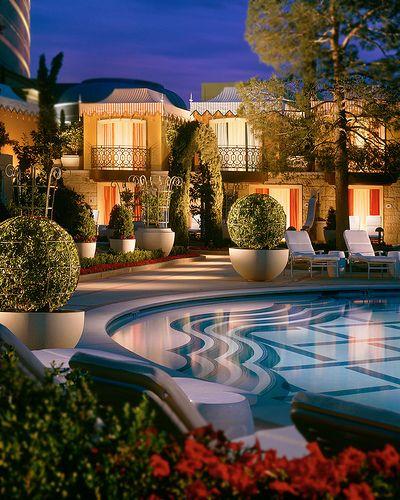 Wynn Las Vegas Evening Pool Cabanas