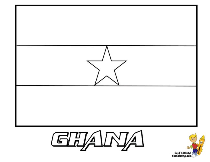 soccer flags coloring pages - photo#10