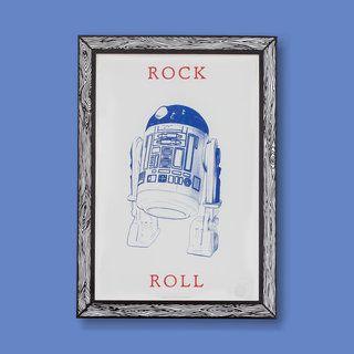 'Robot' ROCK & ROLL Art Print A3