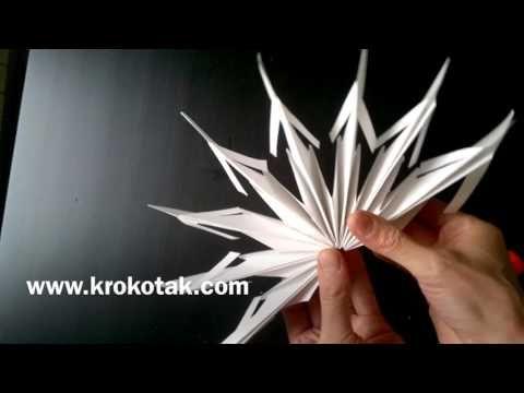 Paper Snowflake Decorations | krokotak