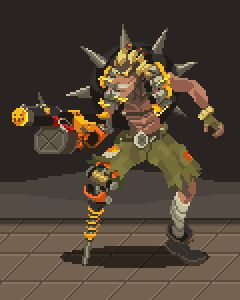 Had fun playing Overwatch during the open beta! Out of everyone I tried, I had the most fun playing Junkrat.