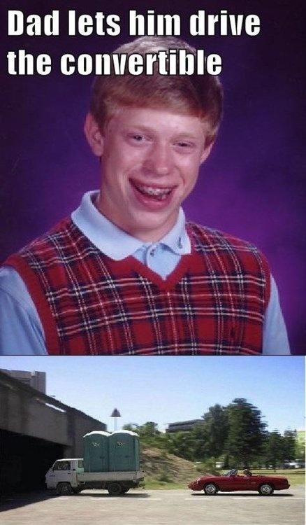 88 best Bad luck Brian meme images on Pinterest