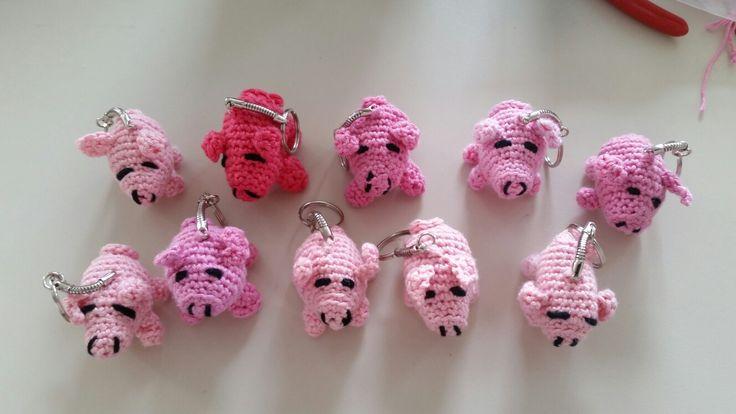 Unser Schwein hat Junge bekommen. ..Made by Katja