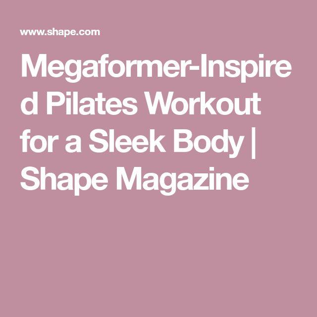 Megaformer-Inspired Pilates Workout for a Sleek Body | Shape Magazine