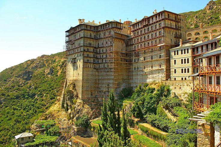 https://flic.kr/p/FLsouL | Άγιο Όρος Ιερά Μονή Σίμωνος Πέτρας - Mount Athos Holy Monastery of Simon Petra - George @ 09