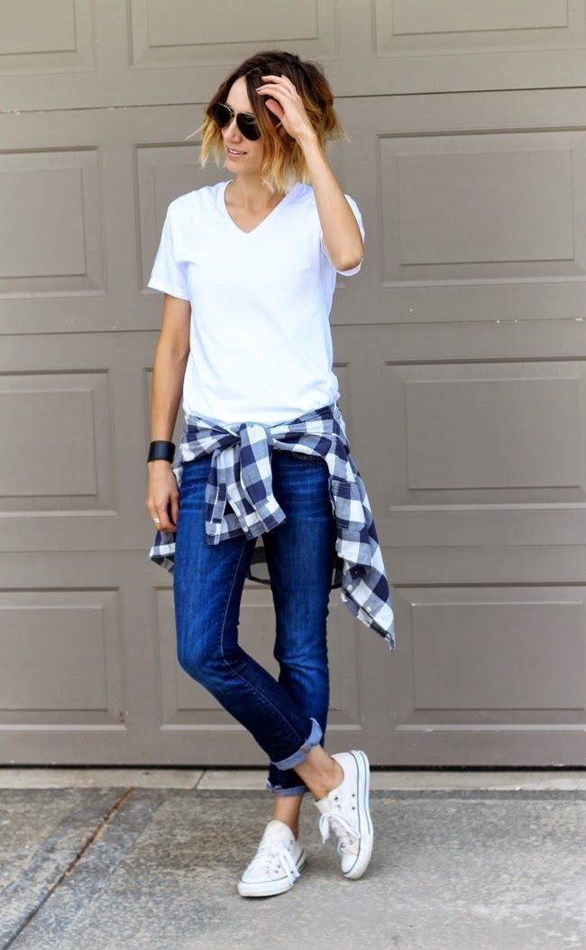 17 Best ideas about Checked Shirt Outfit on Pinterest | Check ...