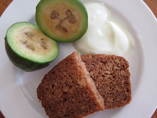 The TK Good Life: Feijoa and Ginger Loaf