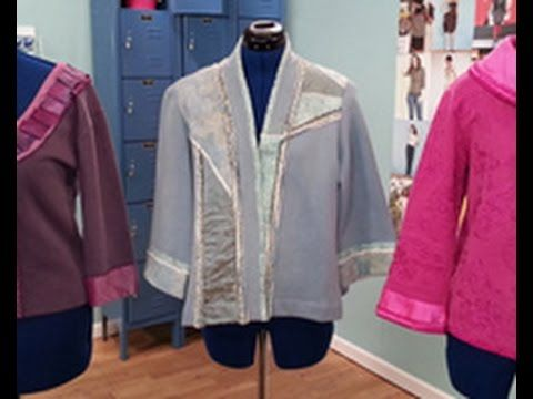 Londa Rohlfing Shows How To Create Sweatshirt Jackets on It's Sew Easy (...