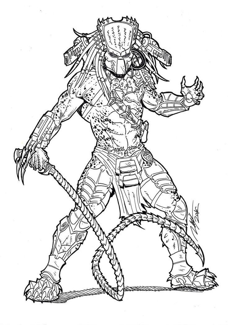 Wolf Predator Drawings