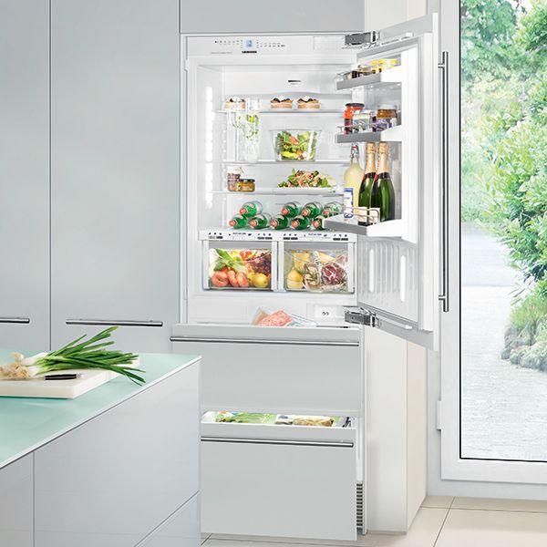 E&S Trading | Kitchen, Bathroom & Laundry - Liebherr Integrated Bottom Mount Fridge/Freezer with BioFresh Compartment ECBN5066