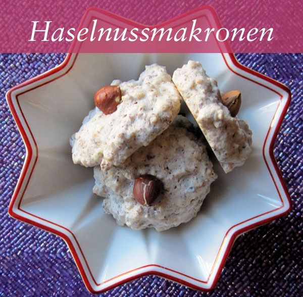 German Christmas Cookie Recipes — Haselnussmakronen