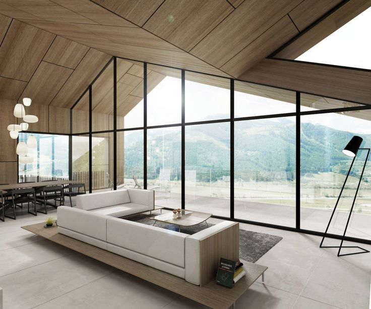House Mountain view_interior_Kitzbuhel by SoNo