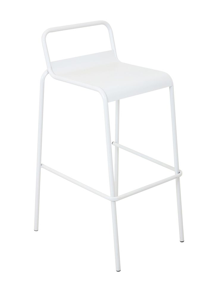 Luxury White Tufted Bar Stools