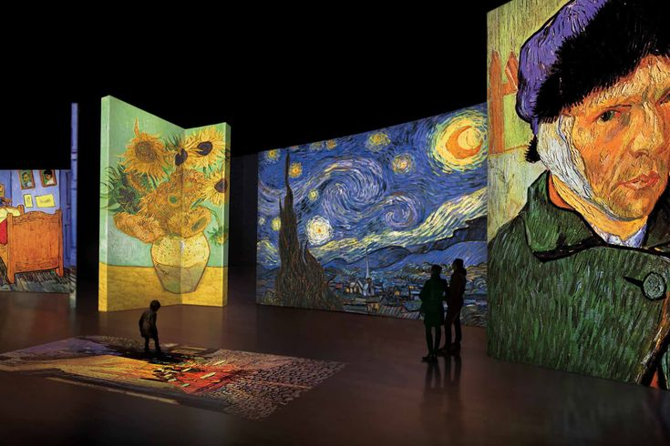 The Van Gogh Alive Exhibit Is Coming To Zürich In 2020 In 2021 Van Gogh Van Gogh Art Art