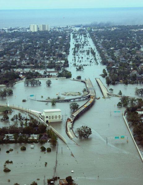 L'ouragan Katrina : les leçons d'un échec. Les faiblesses du dispositif de sécurité intérieure des Etats-Unis.  Par Eric STEIGER