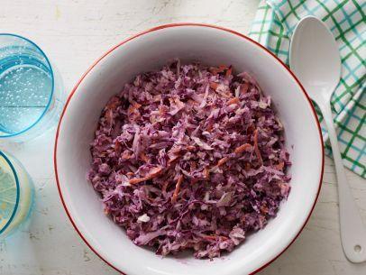 Healthy Chopped Slaw #Veggies #MyPlate