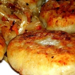Пирожки из картофельного…
